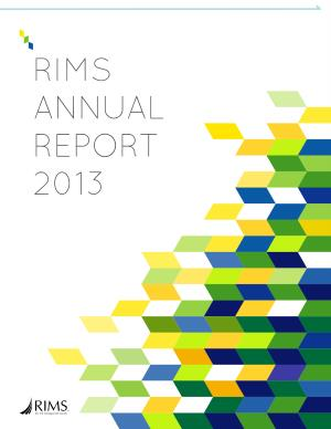 RIMS_Annual_Report_2013
