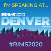 Speaking At RIMS 2020